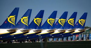 Ryanair: the airline says security restrictions prevent it from processing cash refunds. Photograph: Crispin Rodwell