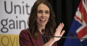 New Zealand  Prime Minister Jacinda Ardern: has led her country in the face of terrorism, tragedy and now a pandemic. Photograph:   Mark Mitchell/Getty Images)