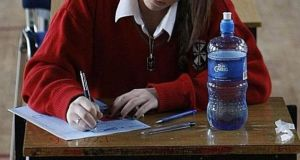 Many students will not be happy with the decision to delay the Leaving Certificate until later in the year. File photograph: PA