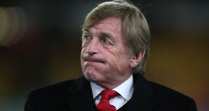 Former Liverpool player and manager Kenny Dalglish has tested positive for coronavirus and is in hospital but is showing no symptoms, his family have announced in a statement. Photograph:  Nick Potts/PA Wire