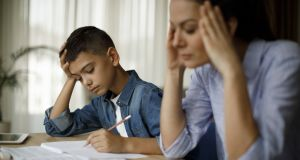 It's very stressful trying to juggle my job with supervising homeschooling. Photograph: iStock