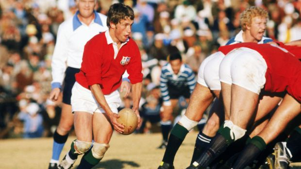 John Robbie in action for the Lions during the 1980 tour of South Africa. Photograph: Adrian Murrell/Getty