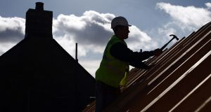 Construction sites would have to adapt to new ways of working, said Mark Cronin, associate director with Townmore. Photograph: Jason Alden/Bloomberg