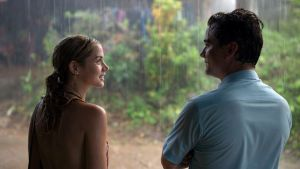Ana de Armas and Wagner Moura in Sergio