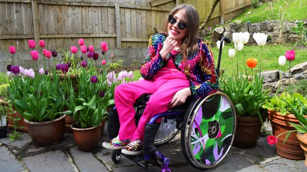 "Izzy Keane: ""Get dressed in your most colourful clothes, even if you don't intend on leaving your home."" Photograph: Ailbhe Keane"