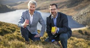 One Nutrition business owners Darragh Hammond and Dominic Galvin. Photograph: Chris Bellew/Fennells