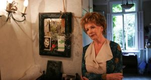 Edna O'Brien  at her home in London in 2006. This article  first appeared in the April 2020 issue of the Dublin Review of Books. Photograph: Frank Miller