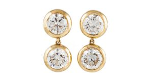 Lot 176 A pair of Bvlgari earrings from O'Reillys, €55,000- €60,000