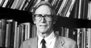 The late John Rawls, who was influenced by Kant in designing a philosophy of justice based on fairness. Photograph: Reuters/Jane Reed/Harvard University News Office