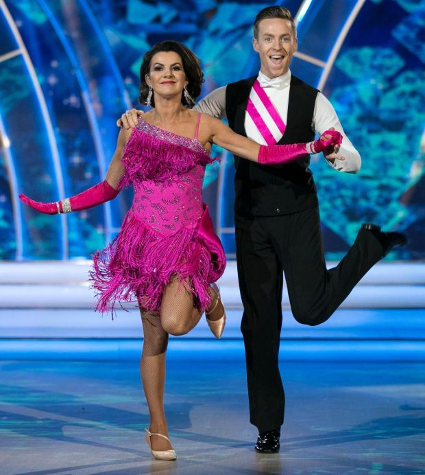 Deirdre O'Kane on Dancing with the Stars. Photograph: Kyran O'Brien/RTÉ