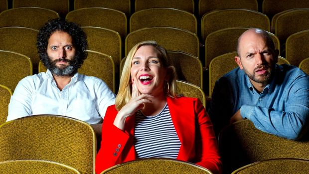 Paul Scheer, June Diane Raphael and Jason Mantzoukas delight in skewering films for our listening pleasure