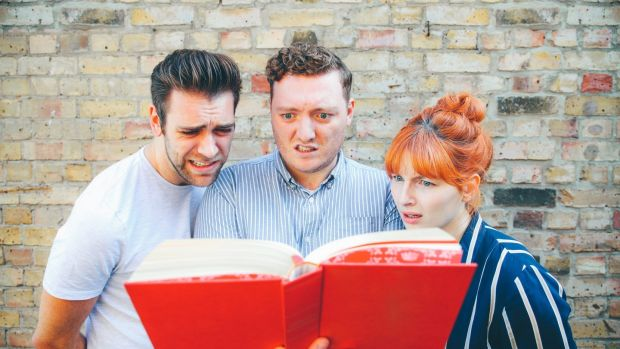 Every week Jamie Morton, James Cooper and Alice Levine read a new chapter from Morton's dad's amateur erotic novel