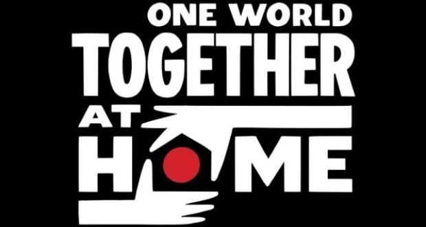 One world together at home logotyp