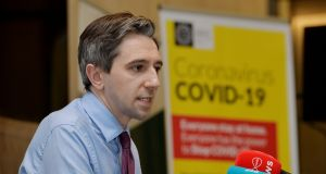 Minister for Health Simon Harris: No specific guidelines were issued for the nursing home sector and weeks went by with no top-level engagement between the Department of Health and private home operators. Photograph: Alan Betson