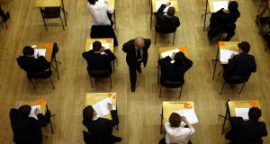 If after further weeks online and back in school it's not possible to hold exams, what's plan B? For everybody's sanity a further extension is simply not an option. File photograph: David Jones/PA Wire