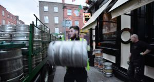 Heineken Ireland has put its staff on a four day week for two months due to the fall off in demand for its beer products since the lockdown began.  File image: Alan Betson / The Irish Times