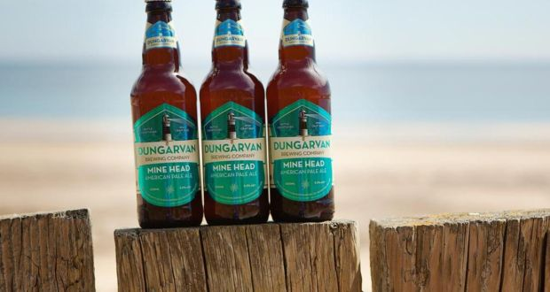 Dungarvan Mine Head: a nicely aromatic, very satisfying beer with a lovely crisp dry finish