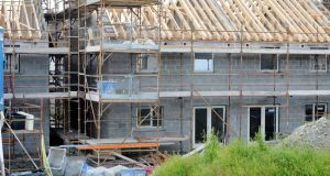 Growth in home-building activity slowed in the first quarter of the year to the lowest rate since 2013. Photograph: Alan Betson / The Irish Times
