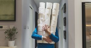 Toilet paper has now become an 'icon' of mass panic. Photograph: Getty Images
