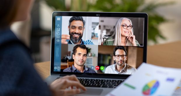 A straw poll of home workers found that up to five video calls a day was the norm, with some people doing twice that number. Photograph: iStock