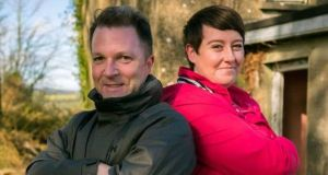 Kieran McCarthy and Maggie Molloy are the presenters of Cheap Irish Homes on RTÉ One on Tuesday night. Photograph: RTÉ