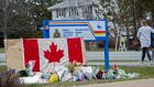 The death toll has risen to 23 following shootings in Nova Scotia, Canada last weekend. Photograph: Tim Krochak/Getty