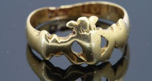 The oldest Claddagh ring known to exist was made by Richard Joyce of Galway circa 1700, and fetched £8,125 (€9,246) at auction in Sotheby's. Galway City Museum, which bought the ring, is on a quest to establish the original owner