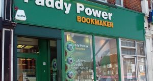 Flutter Entertainment, which owns Paddy Power, is to  merge with Stars Group to create a global online gambling giant with  10m customers. Photograph: PA
