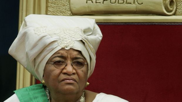 Ellen Johnson Sirleaf, former president of Liberia and WHO goodwill ambassador. Photograph: Jason Reed/Reuters