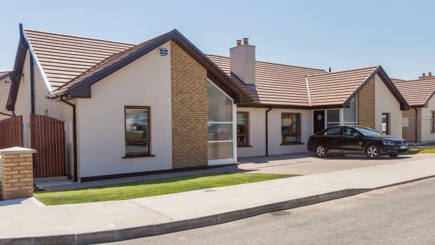 Brian Gleeson Property is quoting a price of € 220,000 for this two-bed bungalow at Abbey Gardens in Dungarvan.