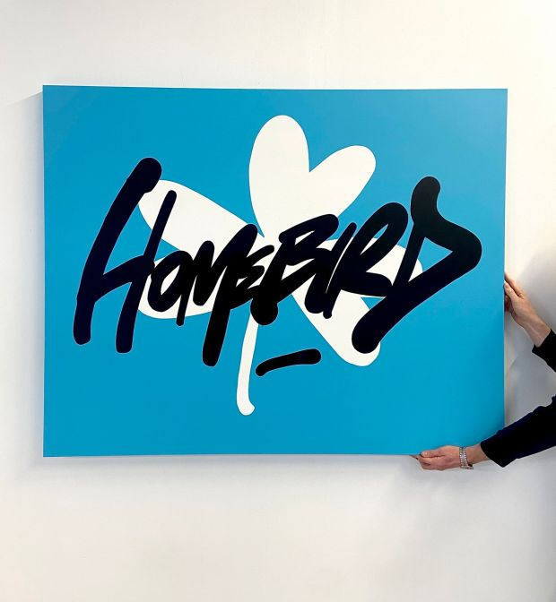 Homebirds: Maser is raffling his newest painting in aid of the Mater Foundation
