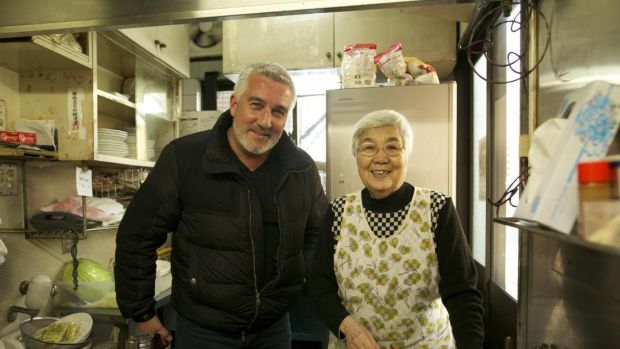 Paul Hollywood and chef in Paul Hollywood Eats Japan