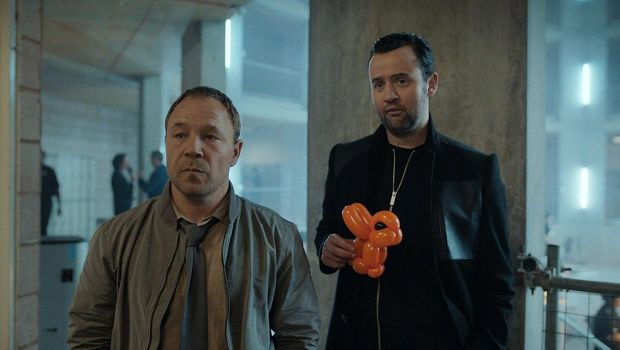 Stephen Graham and Daniel Mays in Code 404
