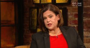 Mary Lou McDonald said she felt 'very lucky' having come through the illness. Photograph: RTÉ Player