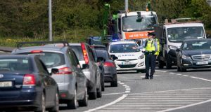 A mismatch between the Covid-19 restrictions in place in the Republic and the North is 'going to cause difficulty' for gardaí enforcing the rules. Photograph: Colin Keegan/Collins Dublin