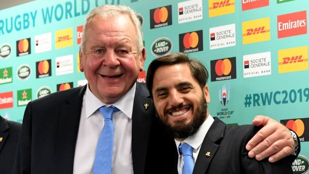 Bill Beaumont is favourite to hold on to the chairmanship of World Rugby ahead of Agustín Pichot. Photograph: Toshifumi Kitamura/AFP via Getty Images