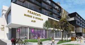 AIB will occupy a high-profile unit at the Frascati Centre at  Blackrock in south Dublin