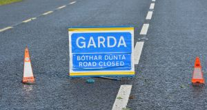 A section of the N22 Killarney to Tralee road was closed on Monday morning following the death of a cyclist in a collision at Rockfield.