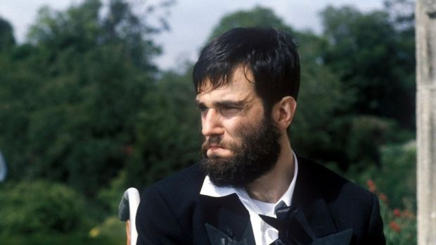 Daniel Day-Lewis in My Left Foot, directed by Jim Sheridan