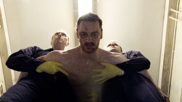 Michael Fassbender in Hunger