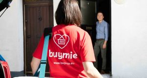 Buymie's service is available to more than 490,000 households across Dublin and in parts of Kildare and Wicklow. Photograph: Derek Kennedy