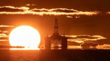 Global oil prices have crashed after the coronavirus pandemic reduced demand. Photograph: Jane Barlow/PA Wire
