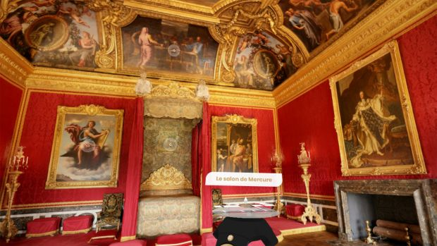 Travel to the Palace of Versailles using Google's astoundingly detailed full 3D scan for VR.