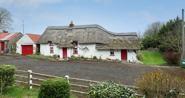 Traditional thatch farmhouse in Camolin, Co Wexford, is  200 years old.