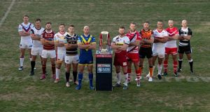 The English Super League is looking to restart its season. Photograph: Getty Images