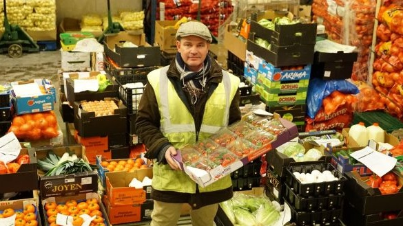 Justin Leonard of Jackie Leonard and Sons Fruit and Veg in Dublin. File photograph: Enda O'Dowd/The Irish Times