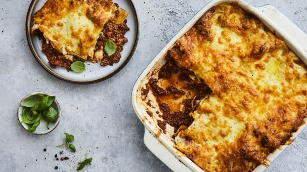 Lasagne from The Butler's Pantry. Photograph: The Butler's Pantry