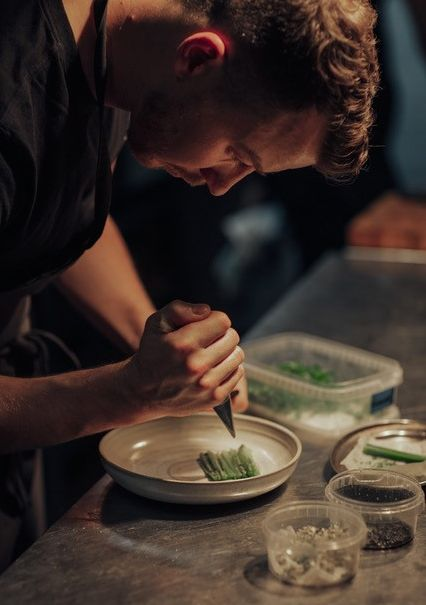 Cúán Greene learned about methods of preserving when he worked at Noma, in Copenhagen