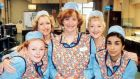There are just 16 episodes of Dinnerladies.