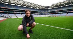 Croke Park pitch manager Stuart Wilson. Photograph:  Bryan O'Brien